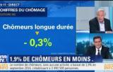 Chômage en France : 19h Ruth Elkrief sur BFM TV