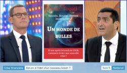 """Soir 3 : Dix ans après la crise des subprimes, un autre krach est """"possible""""."""
