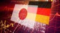 Dangereuse décroissance en Allemagne et au Japon.