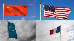 La Chine et les États-Unis euphoriques, la France et la zone euro anémiques.